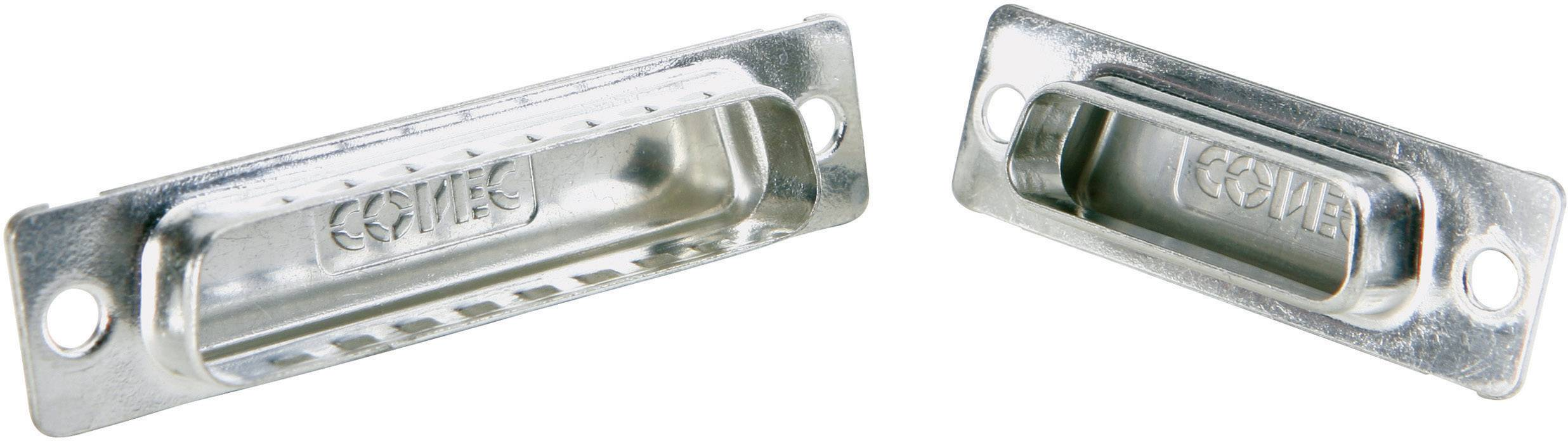 Záslepka D-SUB konektoru Conec 165X12979X, strieborná, 1 ks
