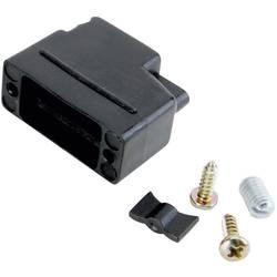 D-SUB púzdro Conec 165X10389XE 165X10389XE, Počet pinov: 9, plast, 180 °, čierna, 1 ks