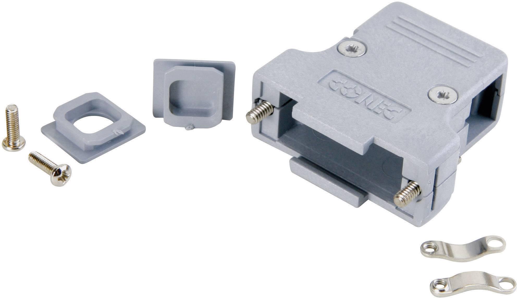 D-SUB pouzdro Conec 165X11909XE 165X11909XE, pólů 50, plast, 180 °, šedá, 1 ks