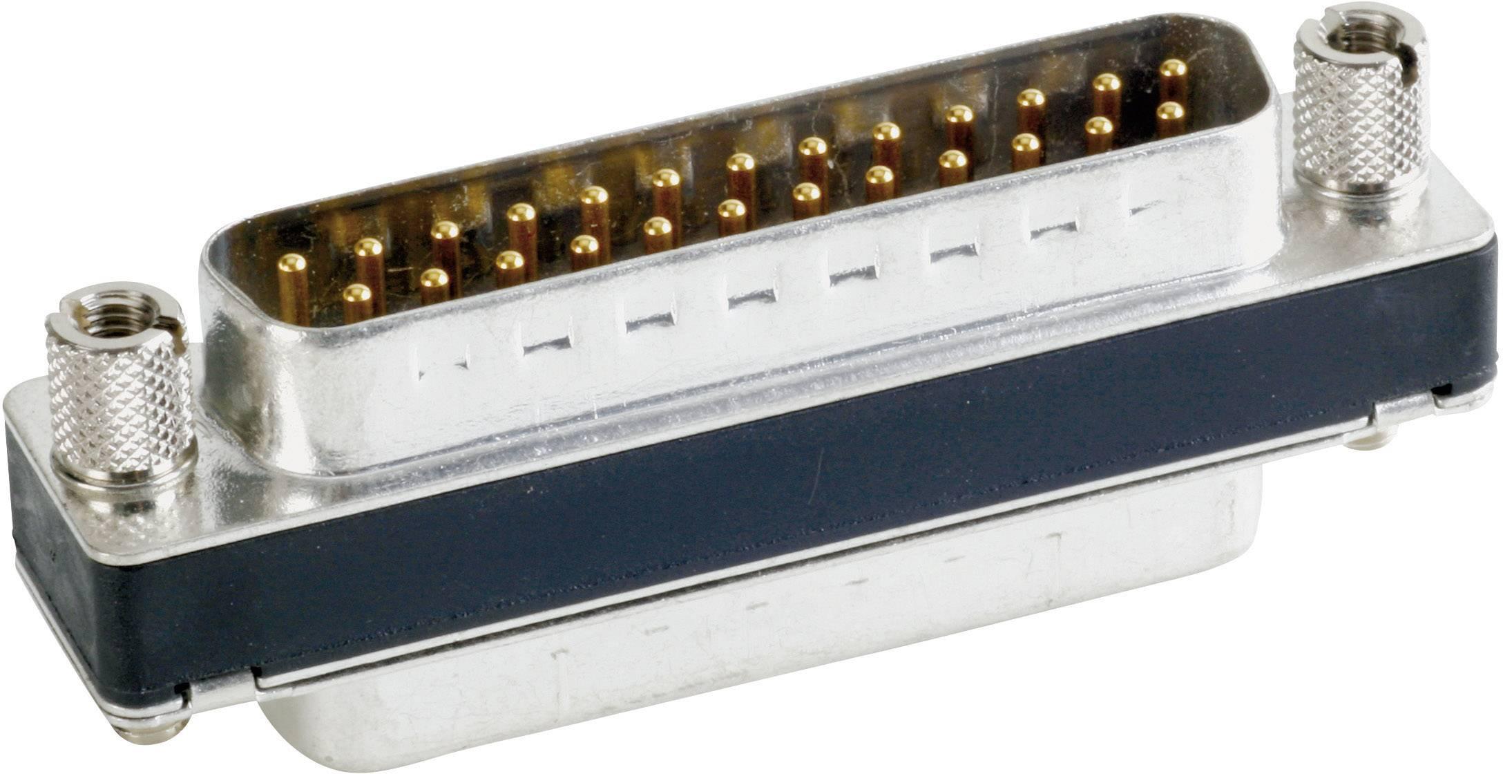 D-SUB filter Conec 242A15050X, 180 °, počet pinov 25, spájkovaný konektor, 1 ks