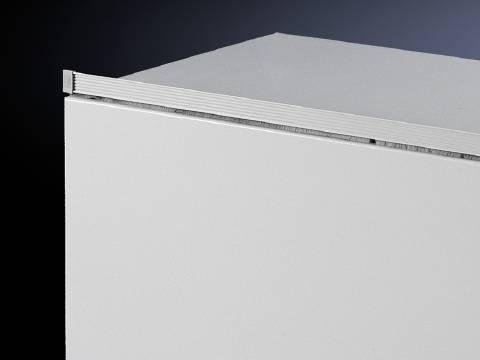 Protiprachová lišta Rittal SZ 2424.100, světle šedá , 600 mm, 1 ks