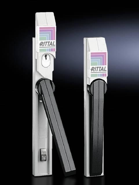 Uzavírací systém Rittal SZ 2456.500, bezpečnostní zámek, litina, světle šedá , 1 ks
