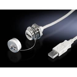 Prodloužení rozhraní Rittal SZ 2482.210, USB-A , mosaz, 0.5 m, 1 ks