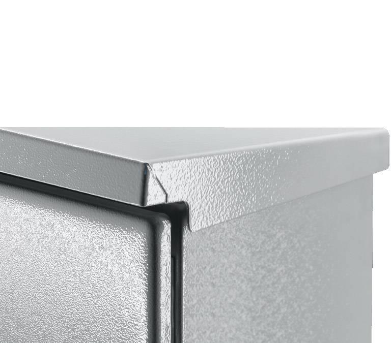 Dažďový kryt Rittal SZ 2502.500, 600 mm, oceľový plech, svetlo sivá (RAL 7035), 1 ks