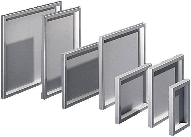 Puzdro na stôl, skrinka na ovládací pult Rittal FT 2742.000, 377 x 377 x 34 mm, hliník, hliník (prírodný), 1 ks