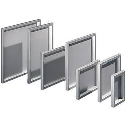 Puzdro na stôl, skrinka na ovládací pult Rittal FT 2745.000, 497 x 497 x 34 mm, hliník, hliník (prírodný), 1 ks