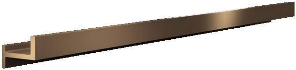 Zbernicová lišta Rittal SV 3525.010, 895 mm, meď, 3 ks