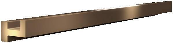 Zbernicová lišta Rittal SV 3528.010, 895 mm, meď, 3 ks