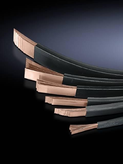 Sběrná lišta lamelová zástrčka Rittal SV 3573.005, lamelová zástrčka , 2000 mm, měď, 1 ks