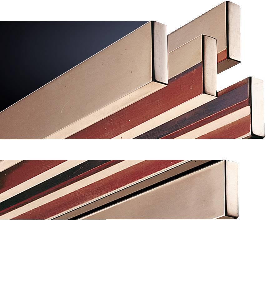 Sběrná lišta bez otvorů Rittal SV 3581.000, bez otvorů, 2400 mm, měď, 6 ks