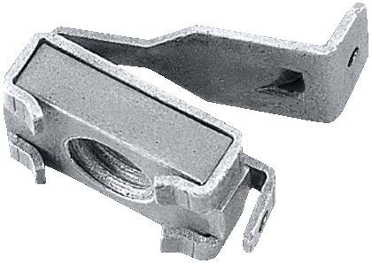 Klecová klecová matice Rittal TS 4166.000, M5, ocel, stříbrnošedá, 50 ks
