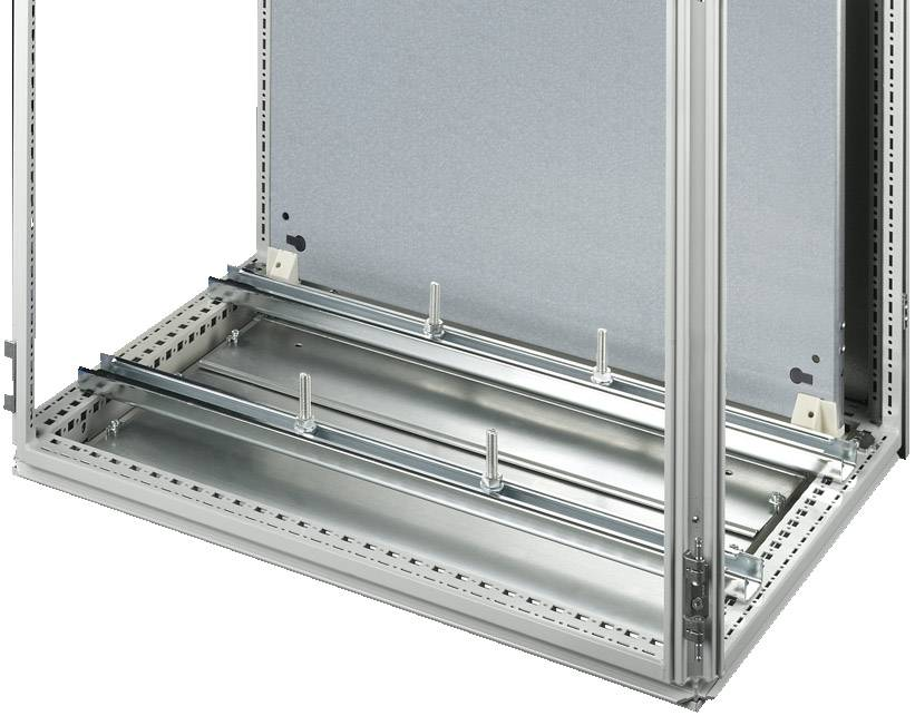 Montážní DIN lišta bez otvorů Rittal SZ 4347.000, ocelový plech, 2 ks