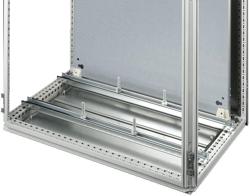 Montážní DIN lišta bez otvorů Rittal SZ 4361.000, ocelový plech, 2 ks