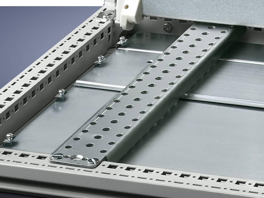 Montážní DIN lišta s otvory Rittal TS 4395.000, s otvory, ocelový plech, 4 ks