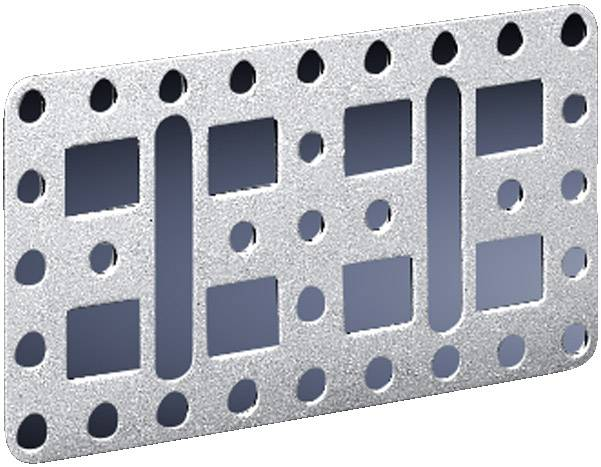 Montážní deska Rittal SZ 4532.000, ocelový plech, 4 ks