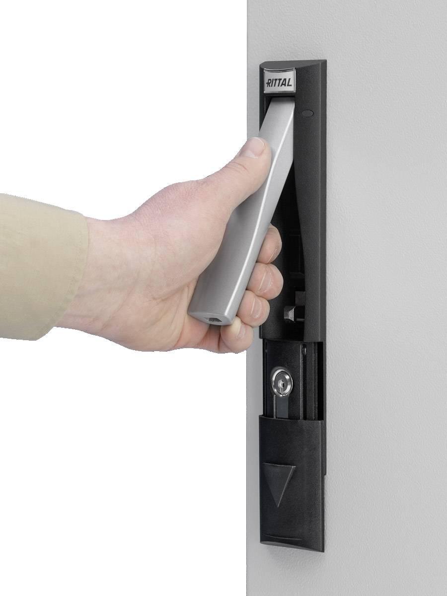 Rukojeť pro závěsný zámek a zavírací vložky černá Rittal CM 5001.062, 1 ks