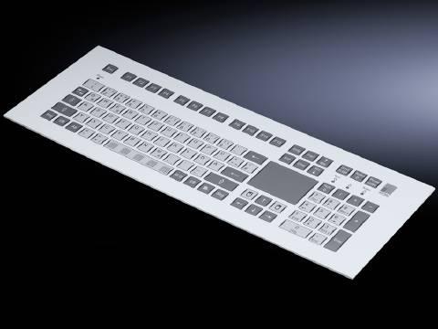 Vestavná klávesnice s dotykovým padem (š x v) 482.6 mm x 177 mm Rittal SM 6446.030, 1 ks
