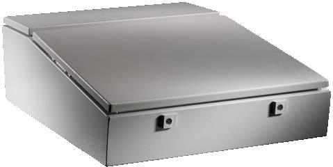 Skrinka na ovládací pult Rittal TP 6710.500, 700 x 600 x 235 mm, oceľový plech, svetlo sivá (RAL 7035), 1 ks