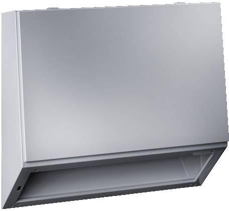 Horný diel skrinky na ovládacie pulty Rittal TP 6721.500, 240 x 800 x 700 mm, oceľový plech, svetlo sivá (RAL 7035), 1 ks