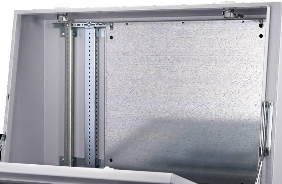 Montážna doska oceľový plech Rittal TP 6730.330, (d x š) 437 mm x 500 mm