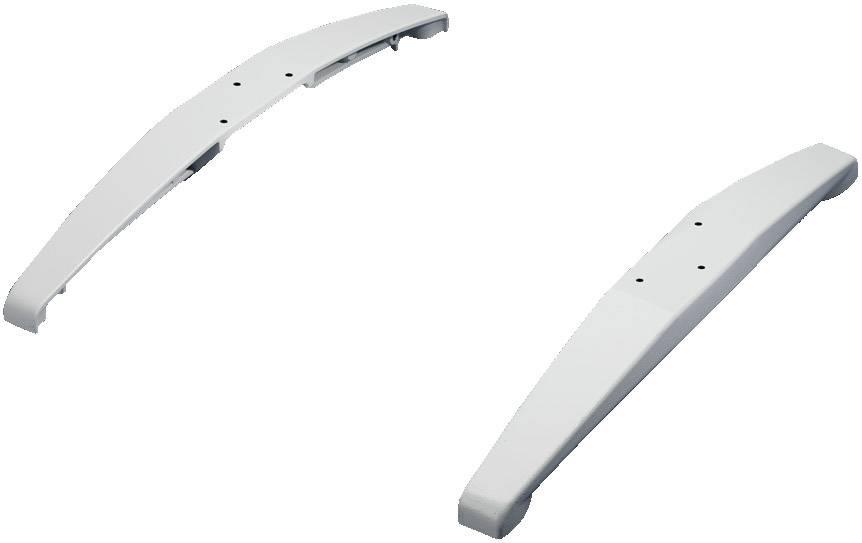 Podstavná nôžka krytu Rittal IW 6902.920, svetlo sivá (RAL 7035), 1 sada