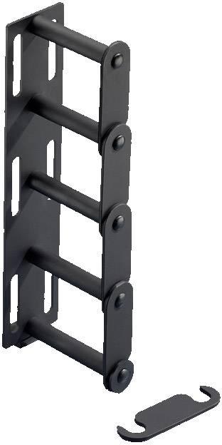Kabelová příčka 2 spojovací hřebeny Rittal DK 7111.222, 4 ks