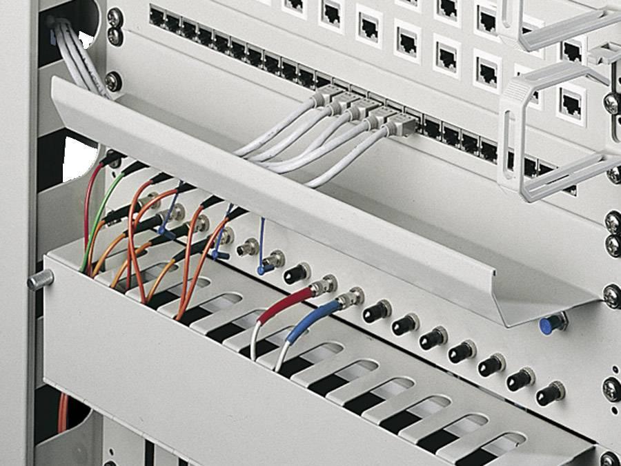 Žlábek pro vedení kabelů Rittal DK 7149.135, (š x h) 482.6 mm x 85 mm, 1 ks