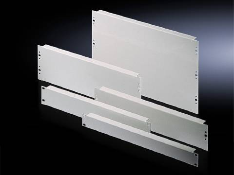 Zaslepovací panel Rittal;DK 7156.035, (š x v) 482.6 mm x 266 mm, 2 ks