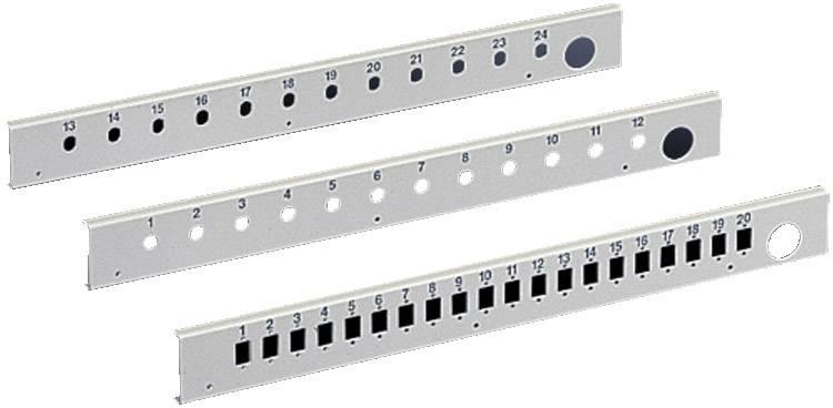 Optický patch panel s 24 montážními místy Rittal DK 7474.535, 1 ks