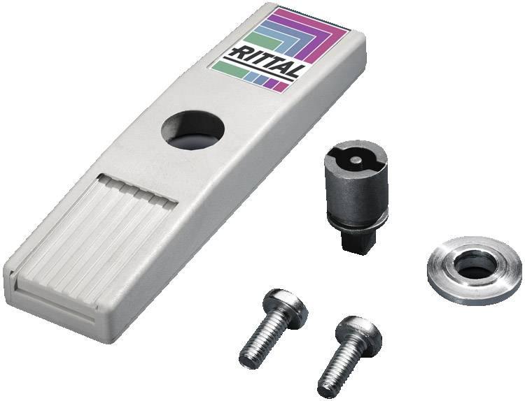 Zajišťovací prvek Rittal TS 8611.370, kov, šedá (RAL 7035), 1 ks