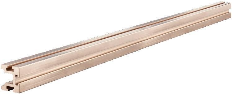 Sběrná lišta Rittal SV 9640.256, 799 mm, měď, 1 ks