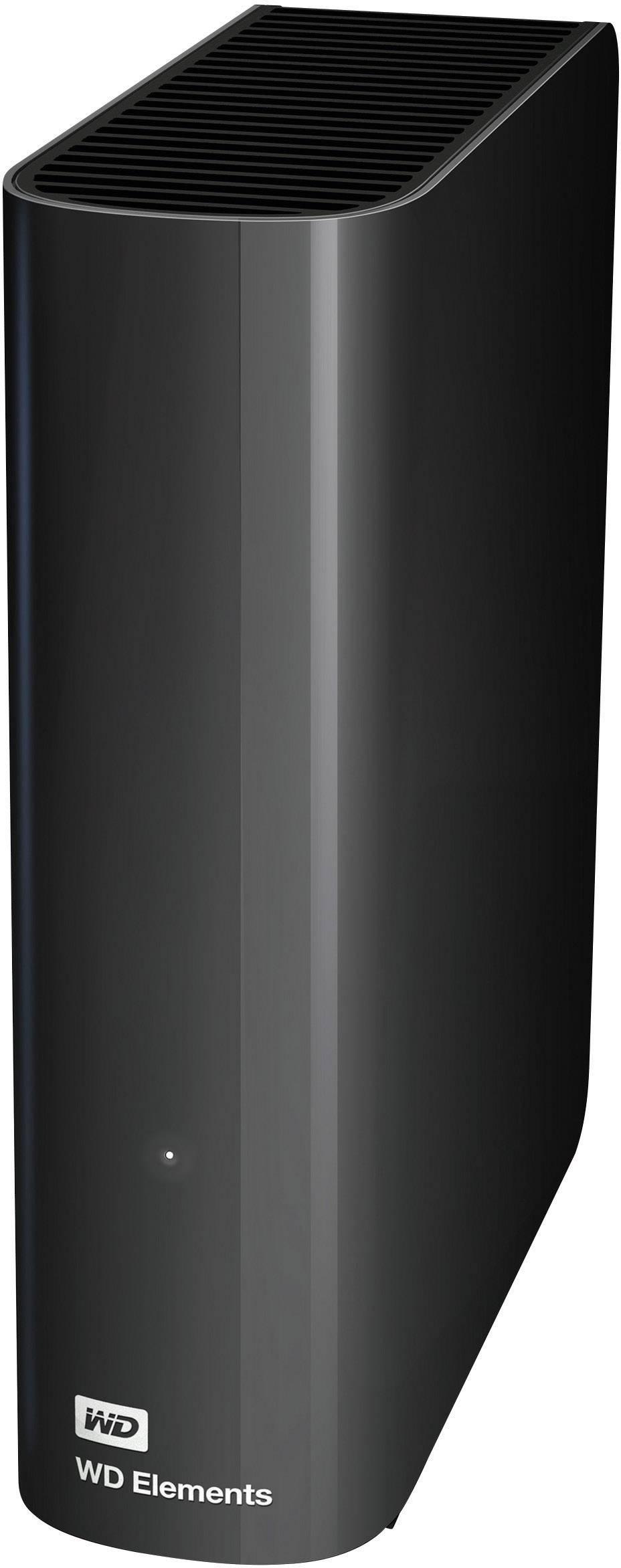 "Externí HDD 8,9 cm (3,5"") Western Digital Elements™, 2 TB, USB 3.0, černá"