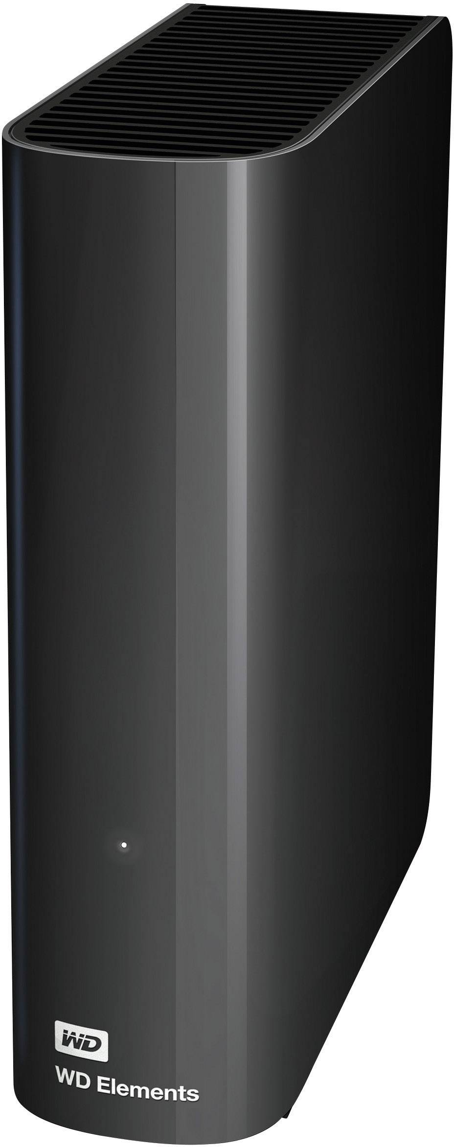 "Externí HDD 8,9 cm (3,5"") Western Digital Elements™, 3 TB, USB 3.0, černá"