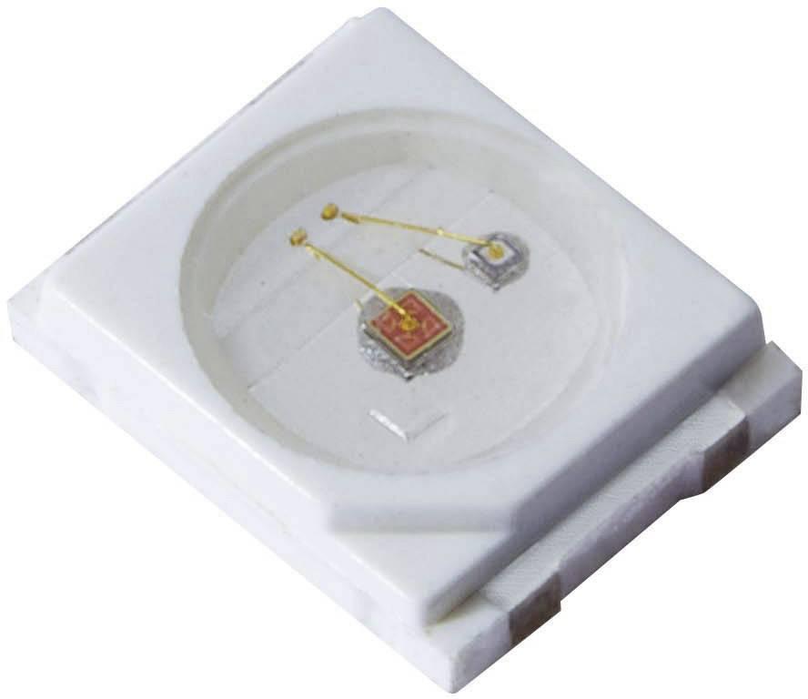 SMD LED PLCC2 Kingbright, KA-3529AZG25Z4S, 150 mA, 3,5 V, 120 °, zelená