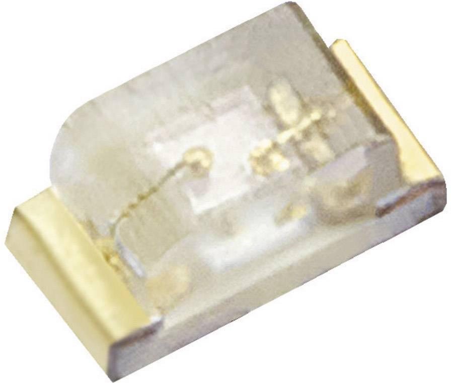 SMD LED Kingbright, KPHHS-1005SURCK, 20 mA, 1,95 V, 120 °, 70 mcd, červená