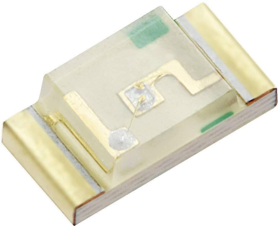 SMD LED Kingbright, KP-3216QBC-D, 20 mA, 3,3 V, 120 °, 100 mcd, modrá