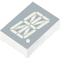 Displej alfanumerický Kingbright, PSC08-11SYKWA, 20,32 mm, žlutá