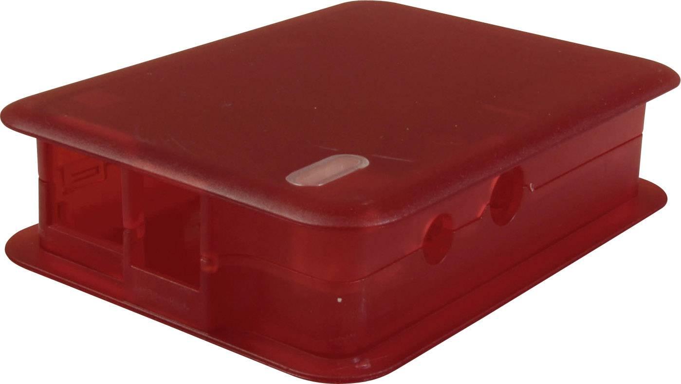 Kryt pro Raspberry Pi® TEKO TEK-BERRY.25, červená (transparentní)