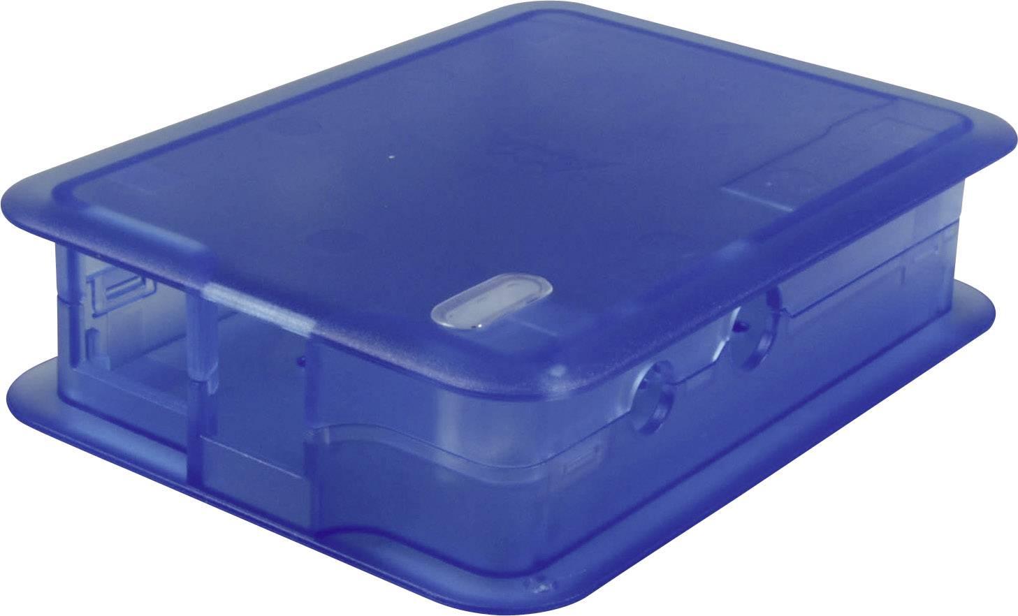 Kryt pro Raspberry Pi® TEKO TEK-BERRY.33, modrá (transparentní)