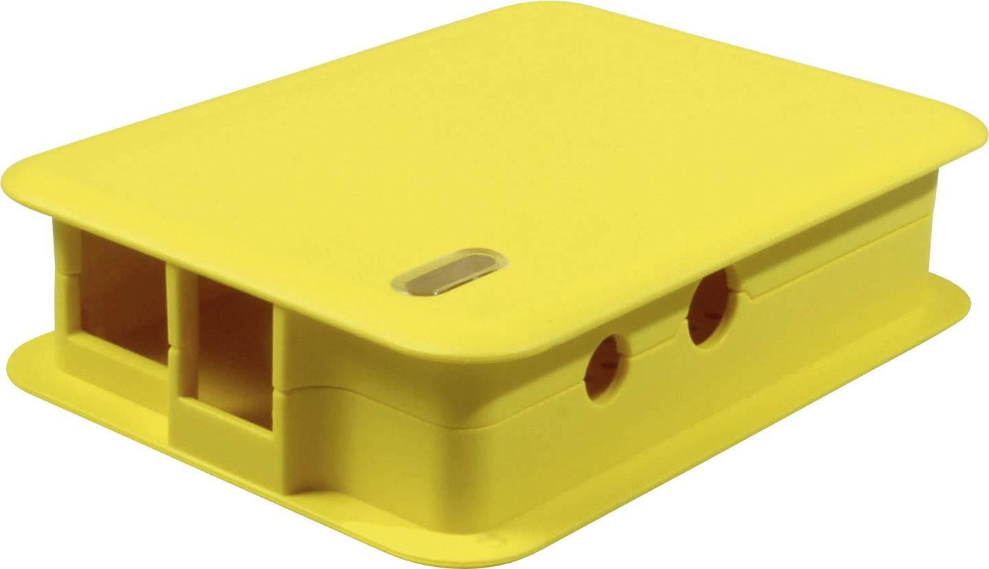 Kryt pro Raspberry Pi® TEKO TEK-BERRY.37, žlutá