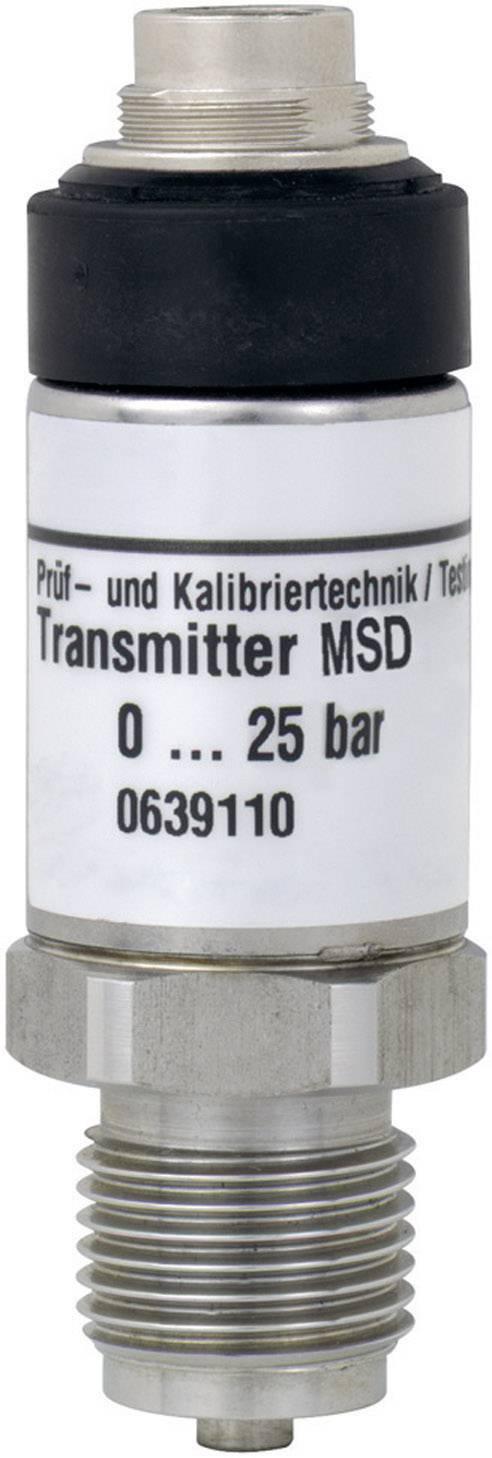 Tlakový senzor z nerezovej ocele MSD 2,5 BAE Greisinger 603310 na tlakomery GMH 31xx, GDUSB 1000