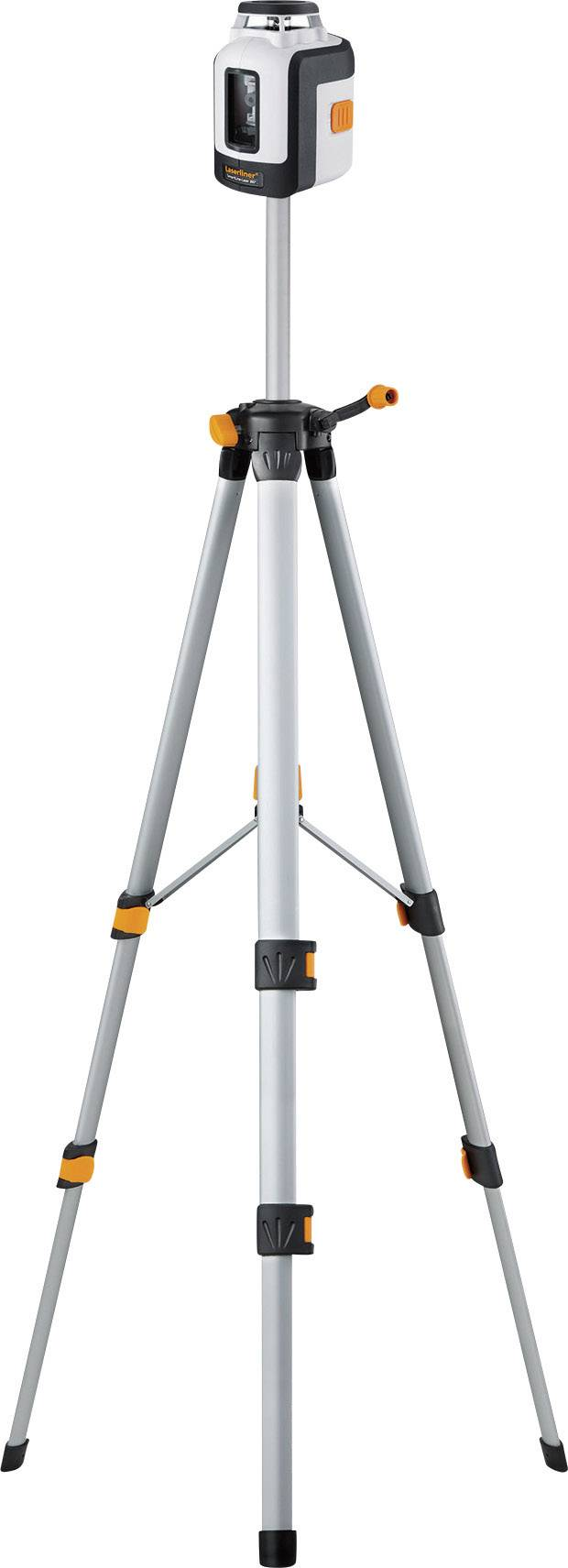 Křížový laser samonivelační, vč. stativu Laserliner SmartLine-Laser 360° Bonus Set, dosah (max.): 20 m, Kalibrováno dle: bez certifikátu