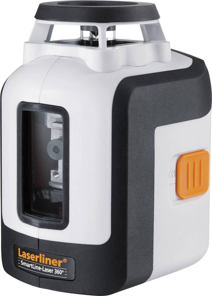 Křížový laser samonivelační, vč. stativu Laserliner SmartLine-Laser 360° Bonus Set, dosah (max.): 20 m, kalibrováno dle ISO