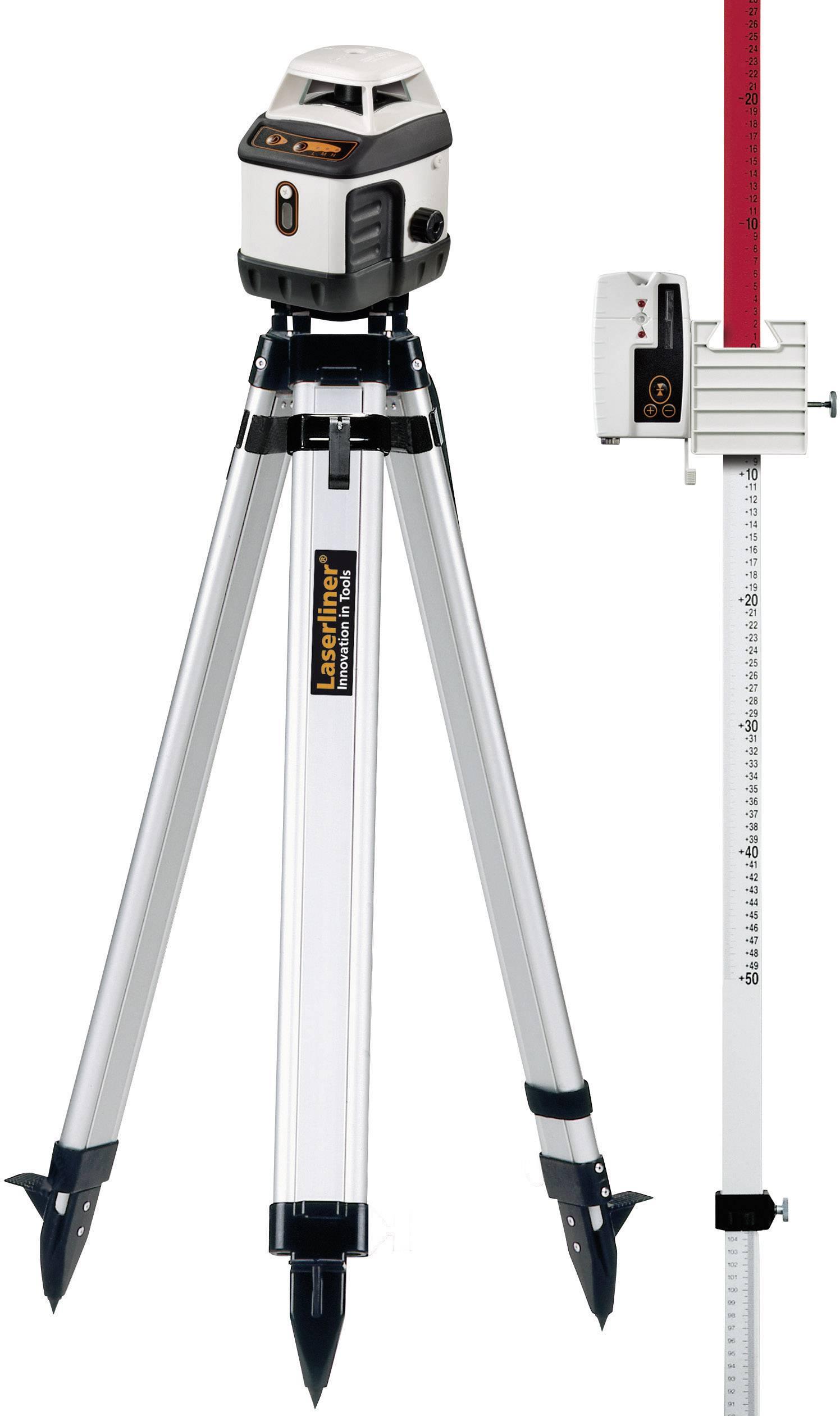 Rotační laser samonivelační, vč. stativu Laserliner AquaPro 120, kalibrováno dle ISO