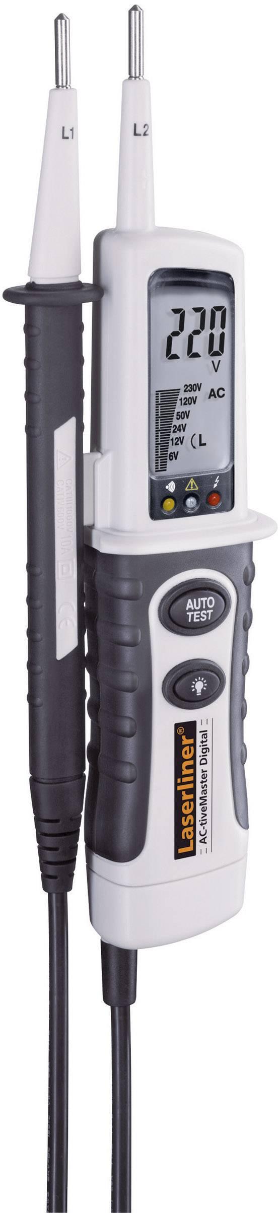 Digitální dvoupólová zkoušečka napětí Laserliner AC-tiveMaster, 083.025A