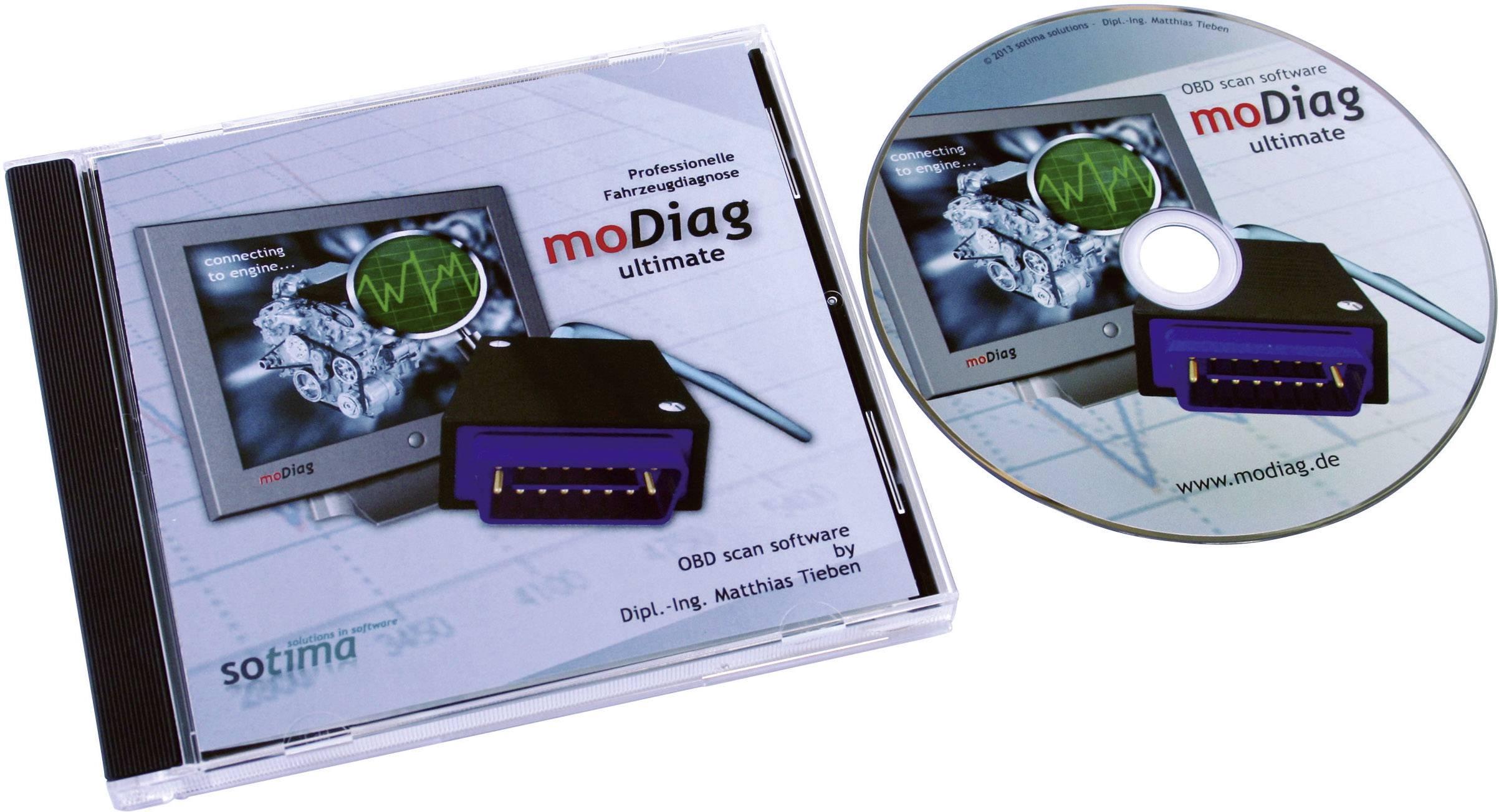 Softvér Diamex moDiag Ultimate Software 7206