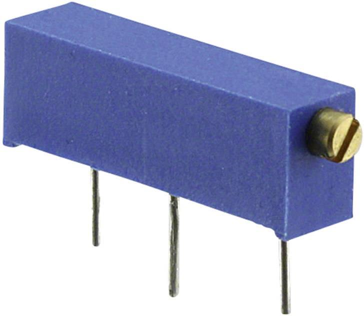 Trimer Bourns 3006P-1-100LF, utesnený, lineárny, 10 Ohm, 0.75 W, 1 ks