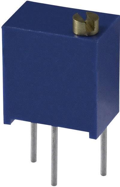 Trimer Bourns 3266W-1-500LF, utesnený, lineárny, 50 Ohm, 0.25 W, 1 ks