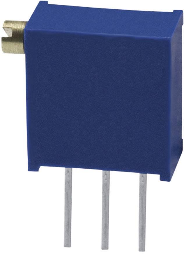 Trimer Bourns 3296X-1-100LF, utesnený, lineárny, 10 Ohm, 0.5 W, 1 ks