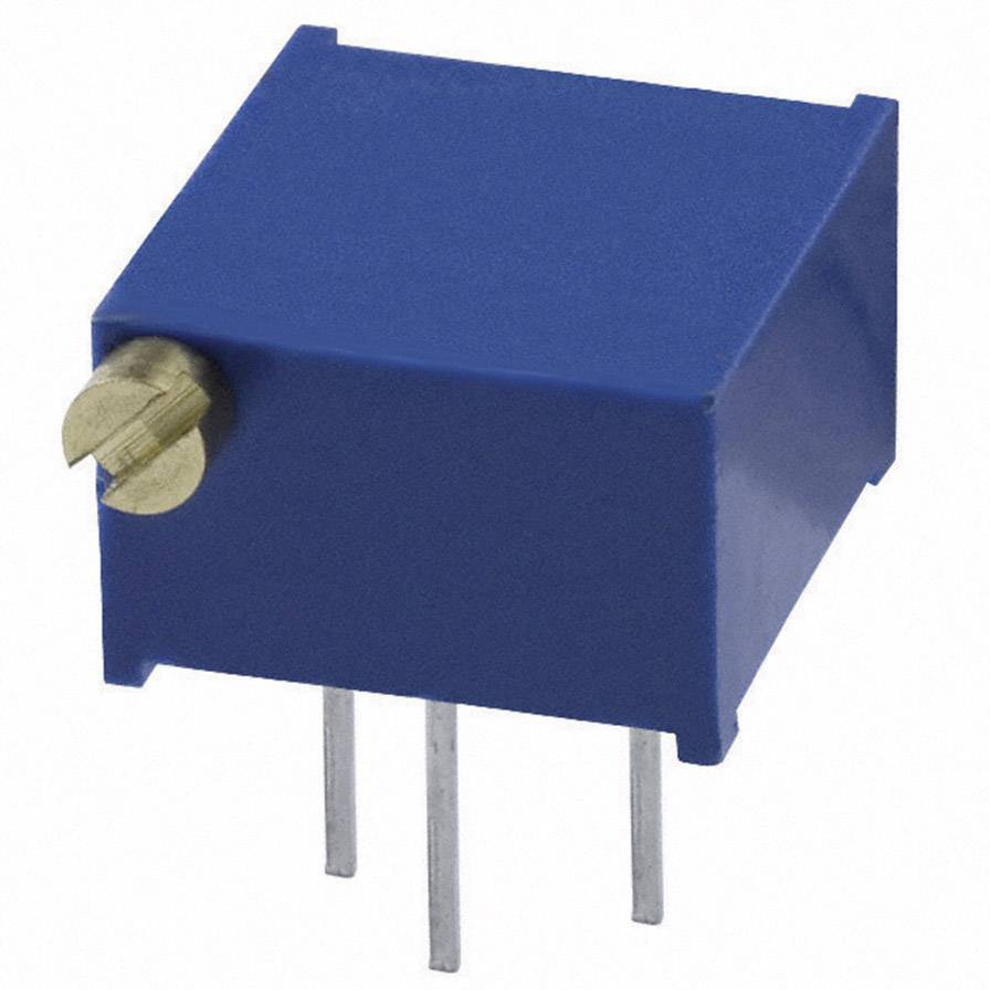 Trimer Bourns 3299P-1-101LF, utesnený, lineárny, 100 Ohm, 0.5 W, 1 ks